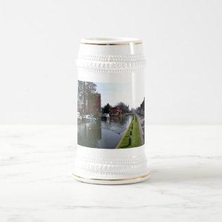 NewburyのKennetおよびAvon運河 ビールジョッキ