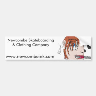 Newcombeインクバンパーステッカー バンパーステッカー
