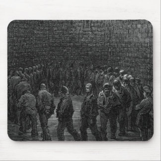 Newgateの刑務所のエクササイズのヤード マウスパッド