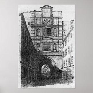 Newgateの刑務所 ポスター