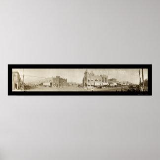 Newkirkのオクラホマの写真1909年 ポスター