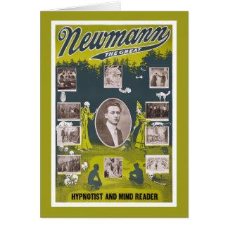 Newmann素晴らしいの-元通りになる1916年のヴィンテージポスター カード