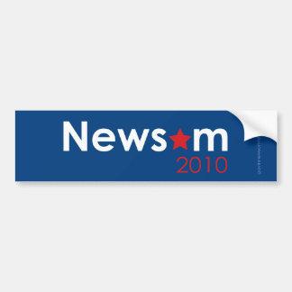 Newsom 2010年 バンパーステッカー