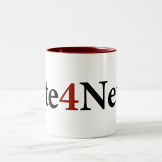 Newtのための投票 ツートーンマグカップ