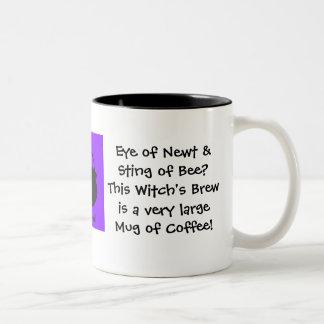 Newtの目。 魔法使いの醸造物… コーヒー ツートーンマグカップ