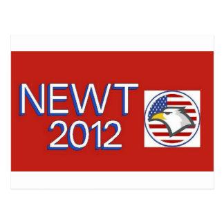 Newtの2012年のワシ ポストカード