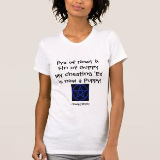 Newt -復讐された魔法使いのTシャツの目(青い) Tシャツ