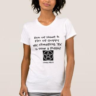 Newt -復讐された魔法使いのTシャツの目(黒か白) Tシャツ