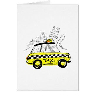 newyorkのタクシー カード