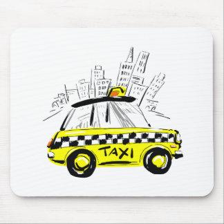 newyorkのタクシー マウスパッド