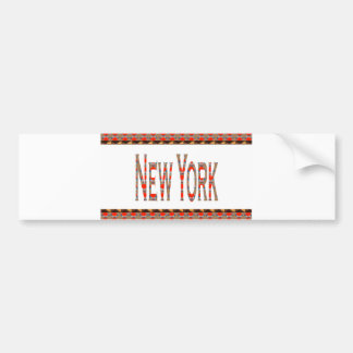NEWYORK NYニューヨークアメリカアメリカLOWPRICES バンパーステッカー