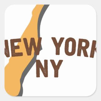 Newyork NY スクエアシール