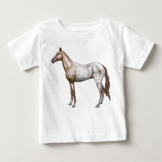 Nez Perceの馬 ベビーTシャツ