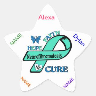 NF (神経線維腫症)を終えよう 星シール