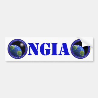 NGA バンパーステッカー