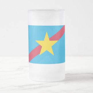 Ngaraardの旗 フロストグラスビールジョッキ
