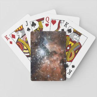 NGC3603星雲のトランプ トランプ