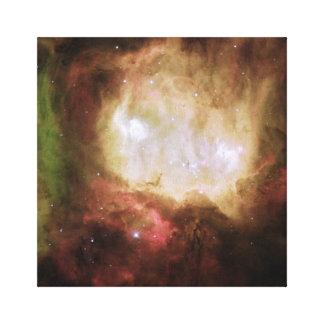 NGC 2080幽霊の頭部の星雲 キャンバスプリント