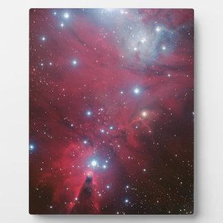 NGC 2264およびクリスマスツリーの集り フォトプラーク