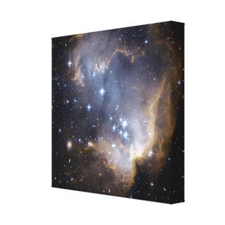 NGC 602の明るい星NASA キャンバスプリント