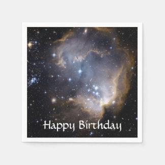 NGC 602の明るい星NASA スタンダードカクテルナプキン