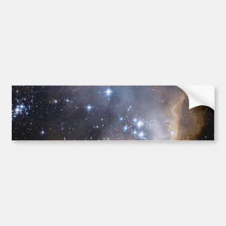 NGC 602の明るい星NASA バンパーステッカー