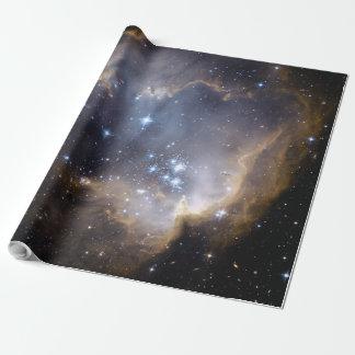 NGC 602の明るい星NASA ラッピングペーパー