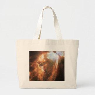 NGC 6302の蝶星雲NASA ラージトートバッグ