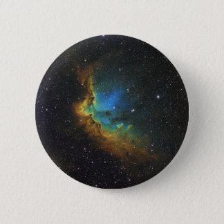 NGC 7380の魔法使いの星雲NASA 5.7CM 丸型バッジ