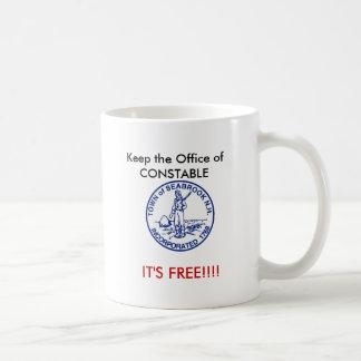 _NH_Town_Seal Seabrook巡査 コーヒーマグカップ