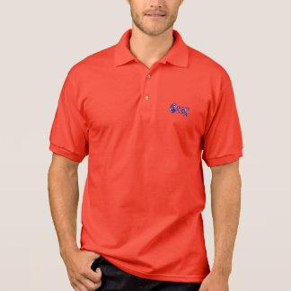 NHPAのカスタムなトーナメントのGildanのポロ-赤 ポロシャツ