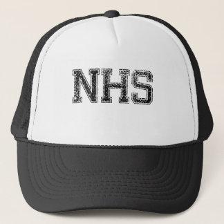 NHSの高等学校-動揺してなヴィンテージ キャップ