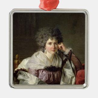 Nicaise Perrin、旧姓キャサリンDeleuze夫人 メタルオーナメント