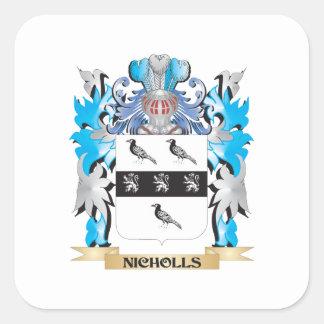 Nichollsの紋章付き外衣-家紋 スクエアシール