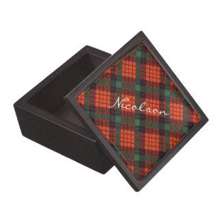 Nicolsonのスコットランド人の格子縞 ギフトボックス