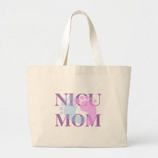 NICUのお母さんのジャンボトートバック ラージトートバッグ