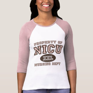 NICUのナースのRaglanのティーの特性 Tシャツ