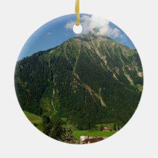 Niesen山、スイス連邦共和国 セラミックオーナメント