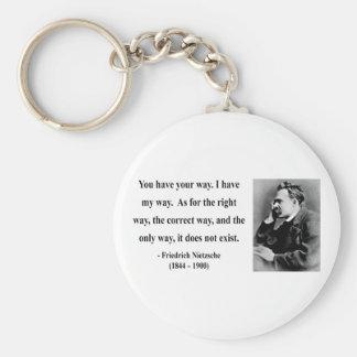 Nietzscheの引用文1b キーホルダー