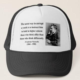 Nietzscheの引用文2b キャップ