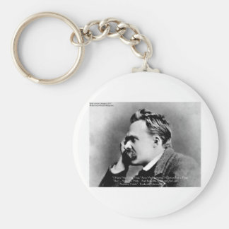 "Nietzscheの""プライド対記憶""知恵の引用文のギフトかティー キーホルダー"