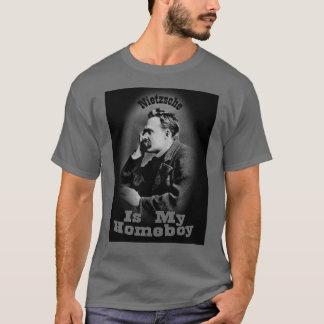 Nietzscheは私の同郷人です Tシャツ