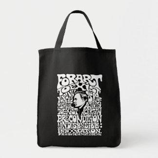 Nietzsche -芸術 トートバッグ