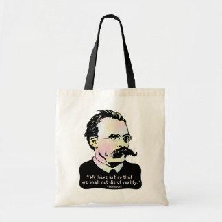 Nietzsche -芸術V.の現実 トートバッグ