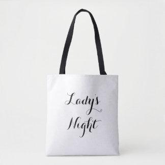 Night女性の トートバッグ