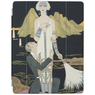 Night 1925年(pochoirのプリント) iPadスマートカバー