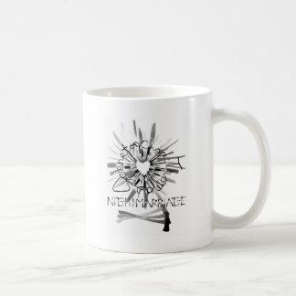 """""""Nightmarriage""""のナイフハートのロゴのマグ コーヒーマグカップ"""
