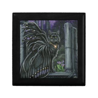 Nightshade黒い妖精猫のギフト用の箱 ギフトボックス