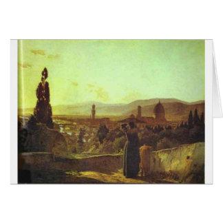 Nikolai GEによるフィレンツェ カード
