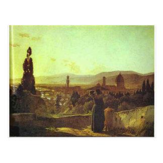Nikolai GEによるフィレンツェ ポストカード